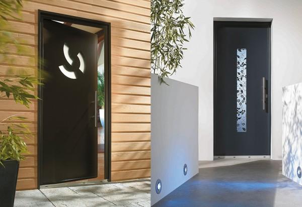 Photo Portes d'entrée Aluminium 1