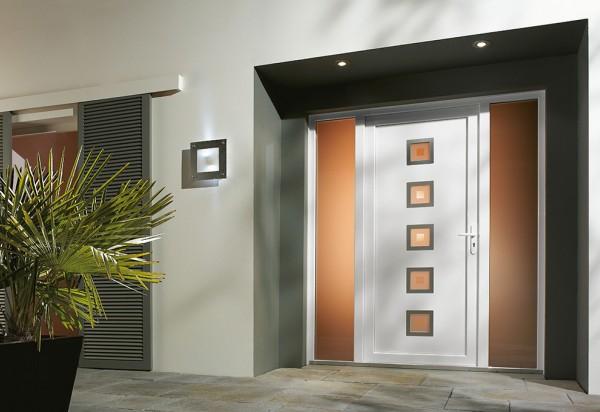 Photo Portes d'entrée PVC 1