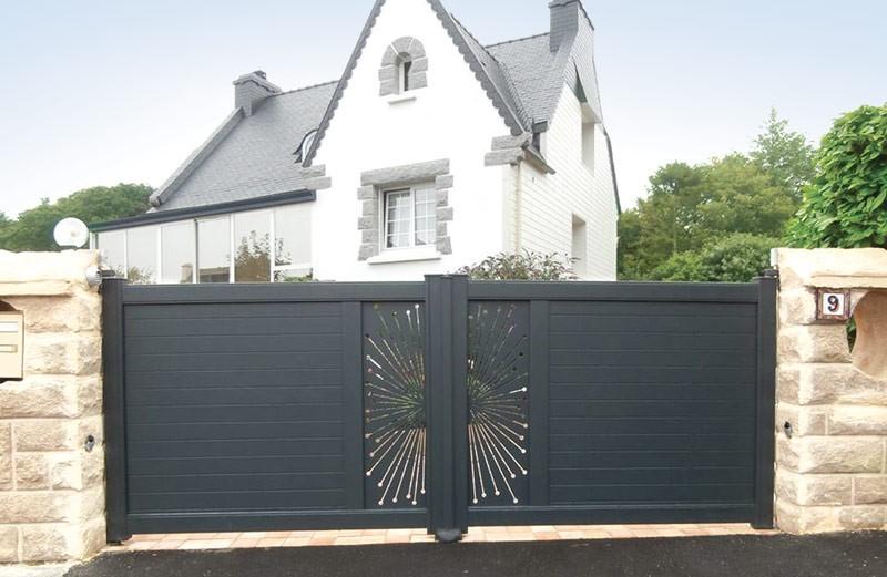 Photo Portails et clôtures aluminium 1