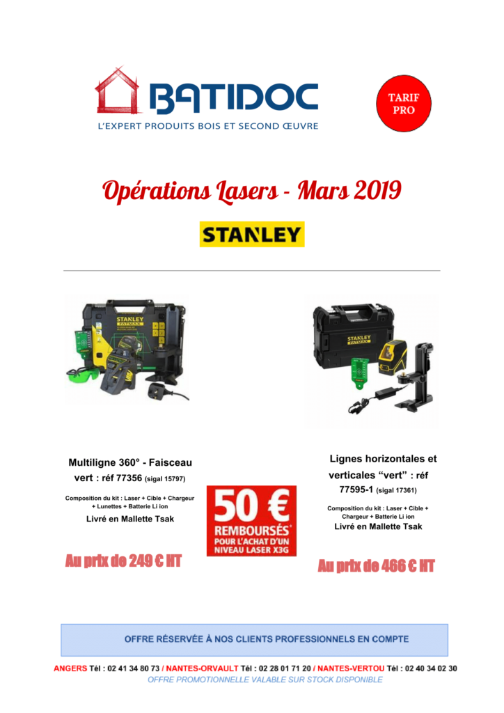offres lasers